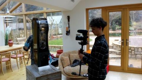 Sylvan filming.