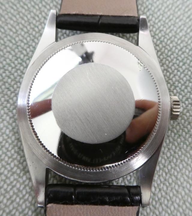 Rolex 1016 case back