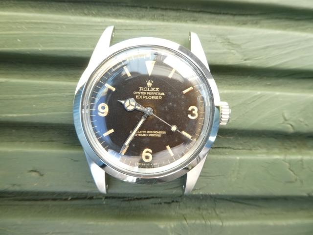 Rolex 1016 calibre 1570 Gilt dial.