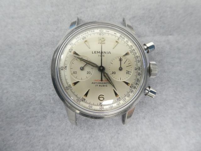 Lemania 105 Chronograph.